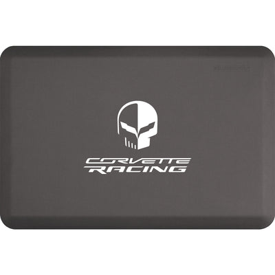 "Licensed Collection – ""Corvette Racing Jake White"" Logo - WellnessMats"
