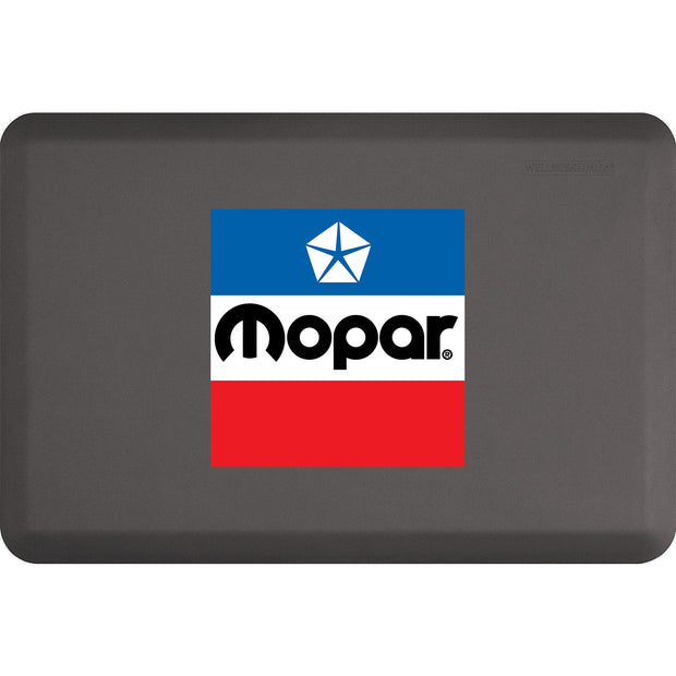 "Licensed Collection – ""Mopar Pentastar"" Logo - WellnessMats"