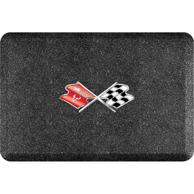 "Licensed Collection – ""C3 Crossflags"" Logo - WellnessMats"