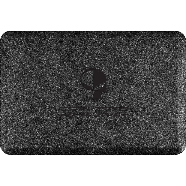 "Licensed Collection – ""Corvette Racing Jake Black"" Logo - WellnessMats"