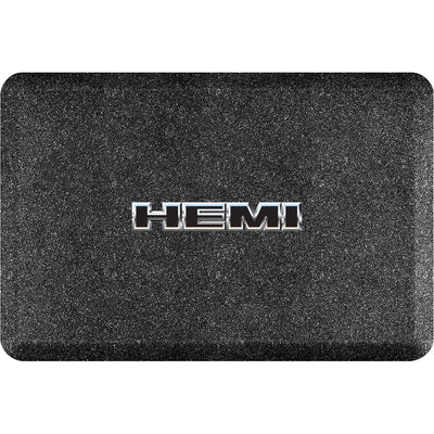 "Licensed Collection – ""HEMI Chrome"" Logo - WellnessMats"