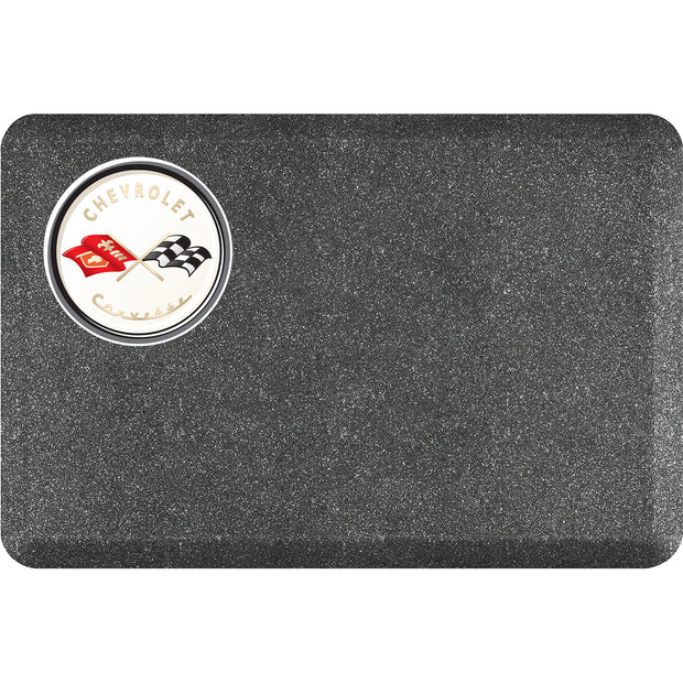 "Licensed Collection – ""C1 Corvette"" Logo - WellnessMats"