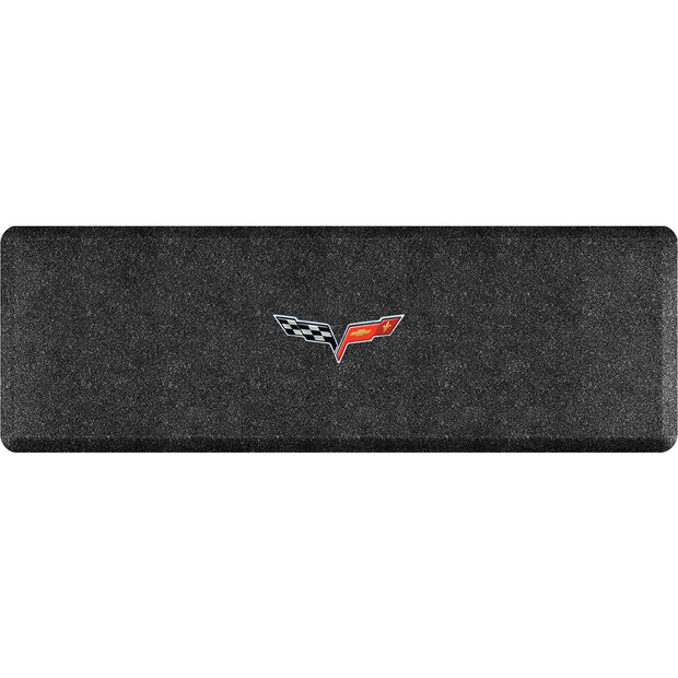 "Licensed Collection – ""C6 Crossflags"" Logo - WellnessMats"