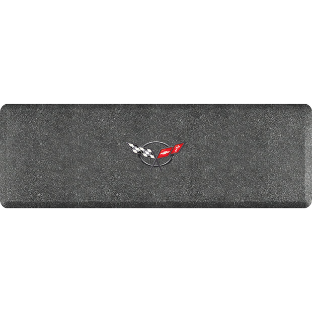"Licensed Collection – ""C5 Crossflags"" Logo - WellnessMats"