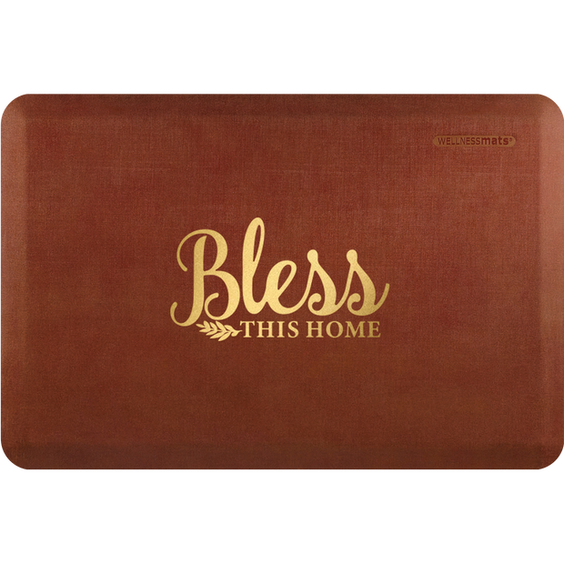 "Signature Exclusive ""Bless This Home"" – Linen - WellnessMats"