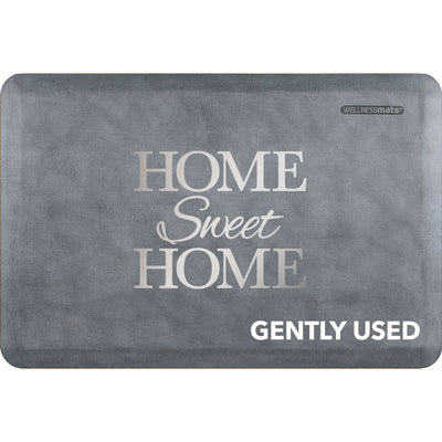 "3' x 2' Linen Signature Exclusive ""Home Sweet Home"" – Beach Glass"