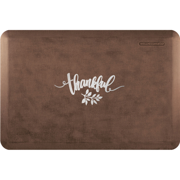 "Signature Exclusive ""Thankful"" – Linen - WellnessMats"