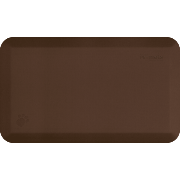 PetMat Squared Collection – Brown Bark - WellnessMats