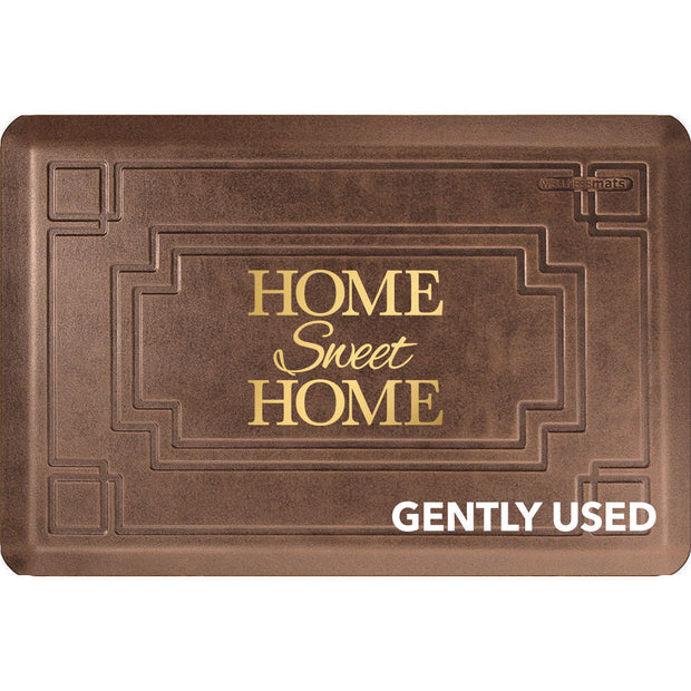 "3' x 2' Gatsby Signature Exclusive ""Home Sweet Home"" – Antique Light"