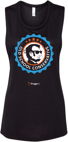 "PragerU: ""Old School Conservative"" Tank - Woman's"