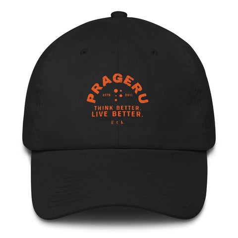 Think Better, Live Better PragerU Cap