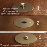 Bayswater Clutch Postman Lock Hardware Protector