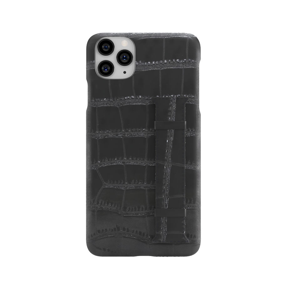 iPhone 11 Pro Max Croc Case With Stand