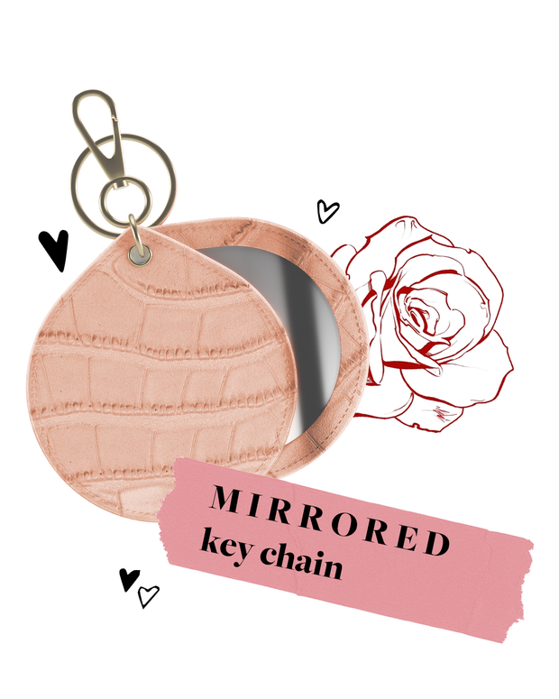 Mirrored Keychain Charms