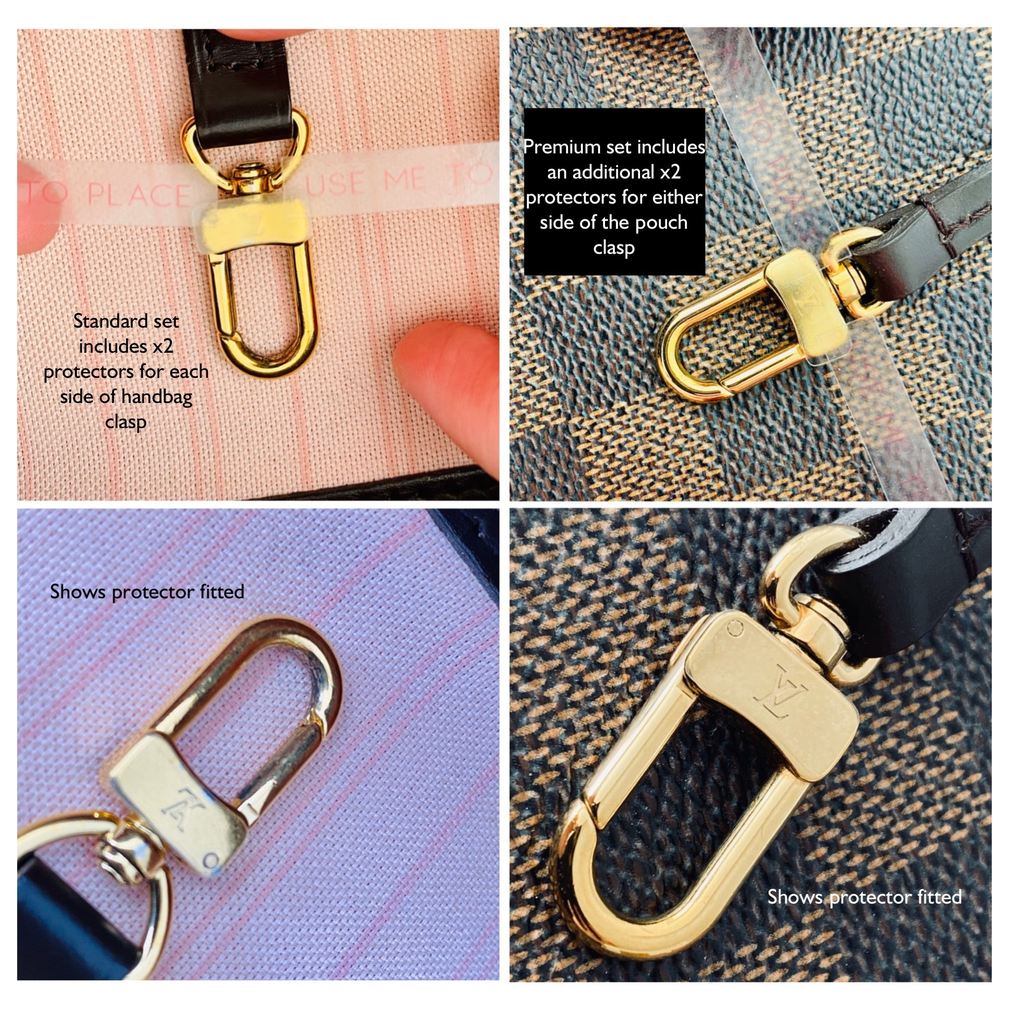 Neverfull Clasp Protectors