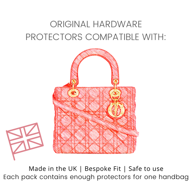 Protectors for Small Lady Dior