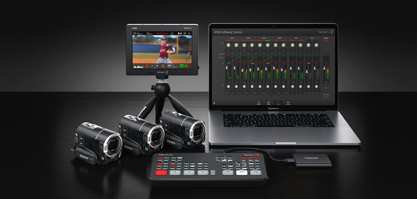 Blackmagic Design presenta el nuevo el ATEM Mini Pro y anuncia actualizaciones para el Hyperdeck Studio Mini y la Pocket Cinema Camera