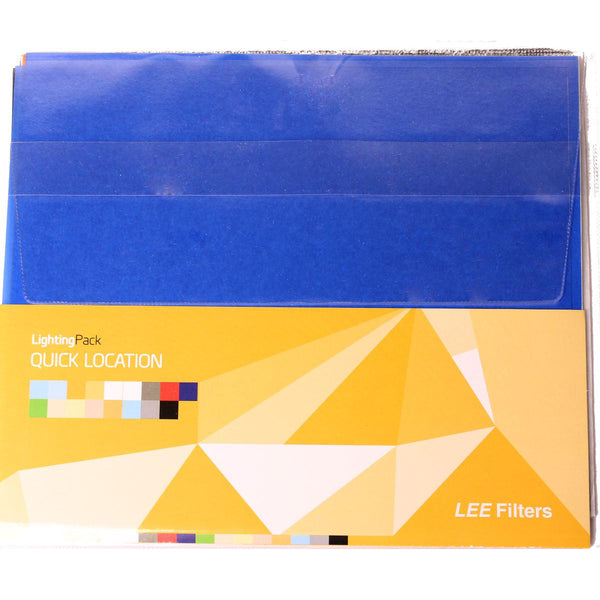 "Kit de Filtros Lee Quick Location Pack 24 hojas (10"" X 12"")"