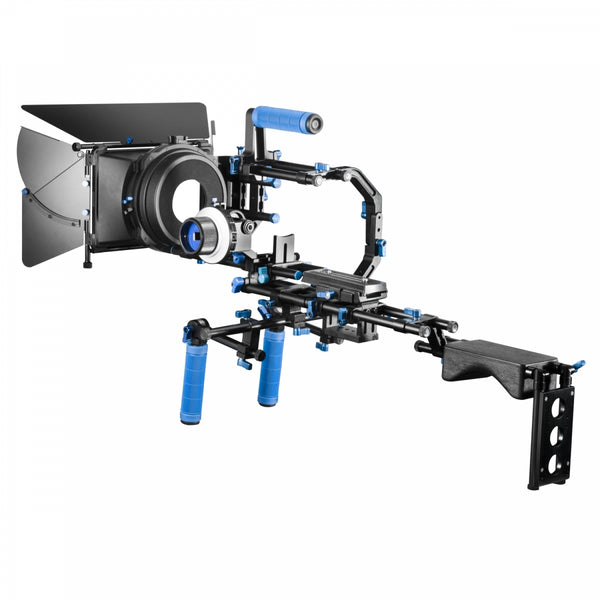 Soporte Kit DSLR BLUE RL-03 incluye DSLR, Matte Box, Follow y Estuche
