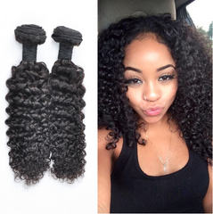 Fashionable Kinky Natural Looking Hair