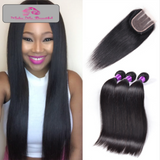 Silky Sexy Straight Lace Closure