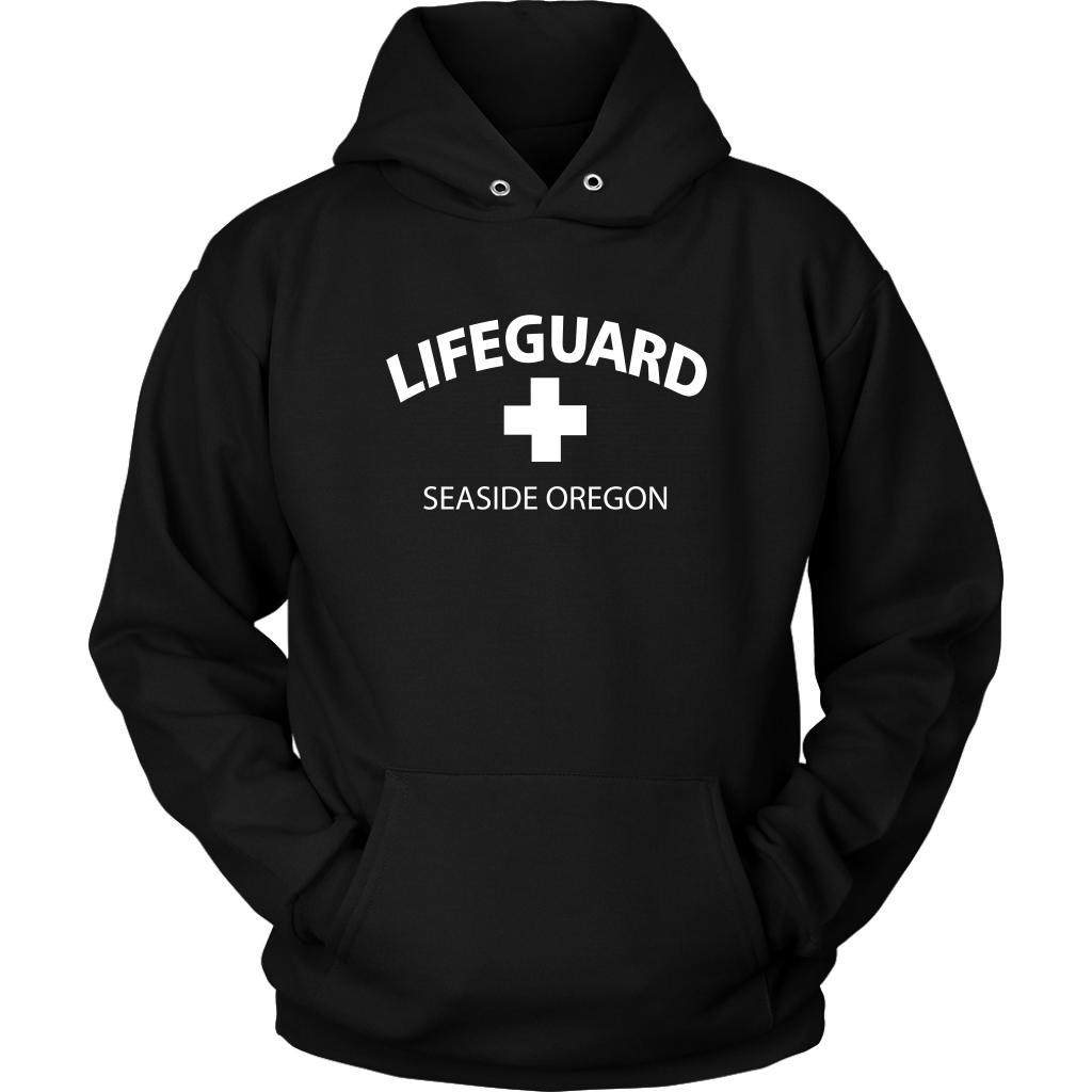 Adult Unisex Lifeguard Hooded Sweatshirt
