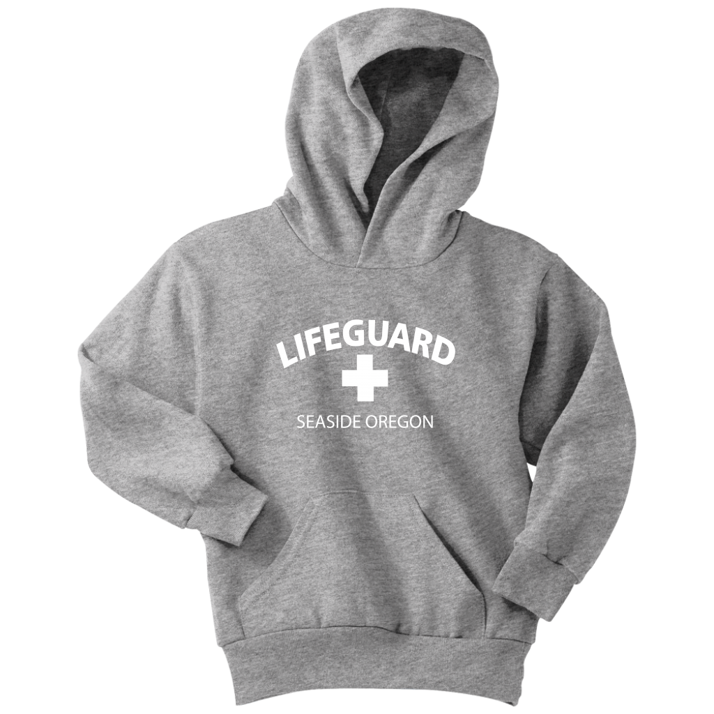 Childrens Lifeguard Hooded Sweatshirt