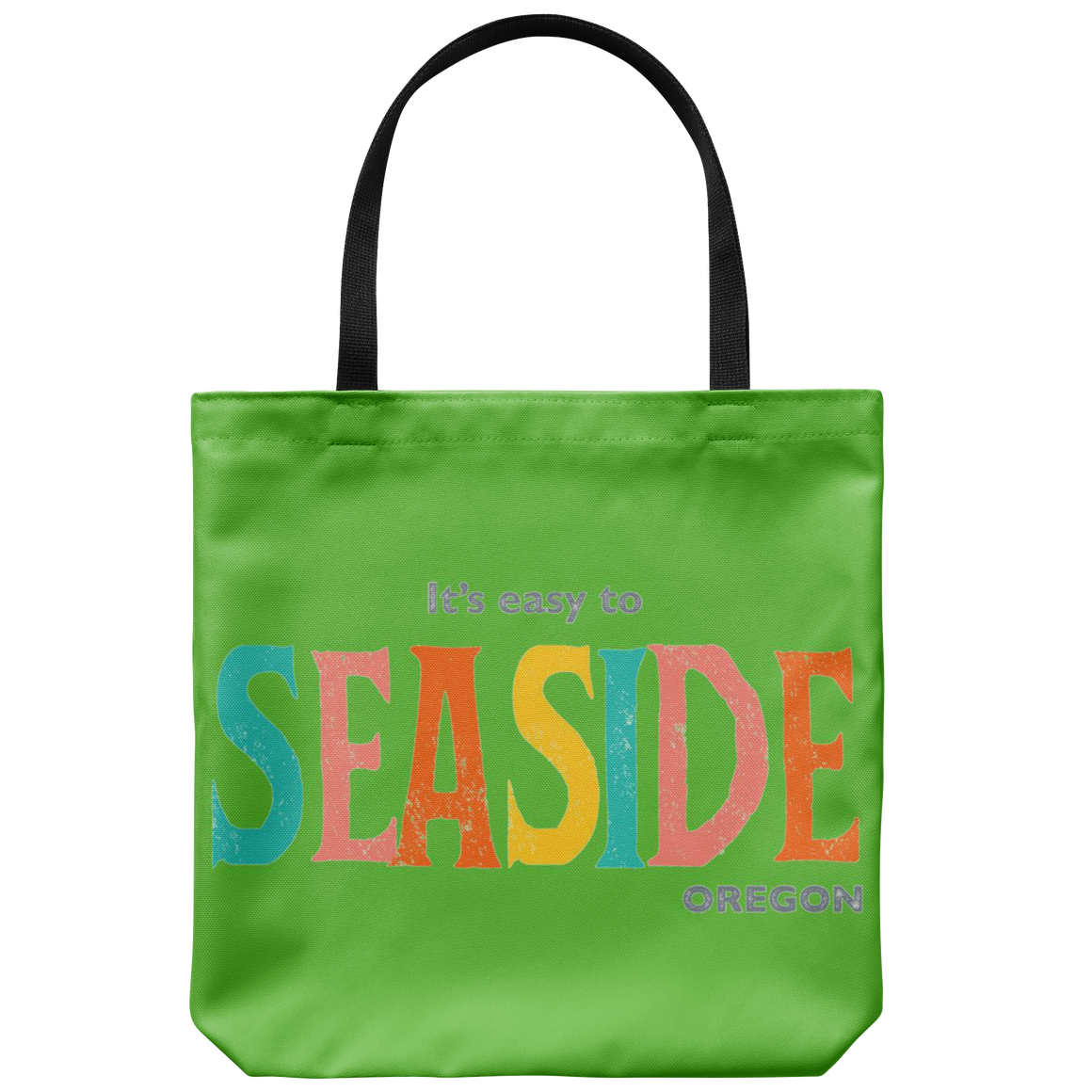 Green Seaside Oregon Tote Bag