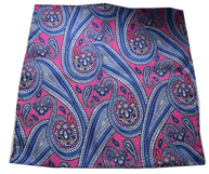 Cod 02 pink blue paisley