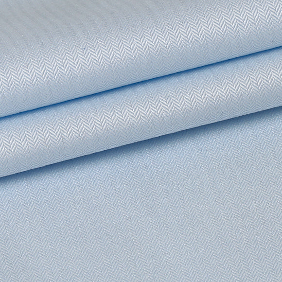 Premium Shirts 100% Cotton 100/2*100/2 Jacquard Blue Solid SAR046A