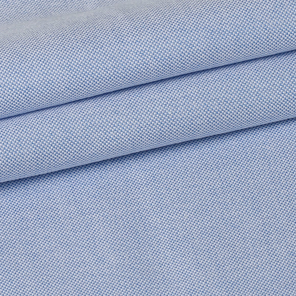 Premium Shirts 100% Cotton 40*21/2 Oxford Blue Solid SAP719A