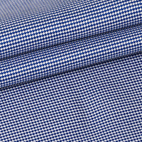 Premium Shirts 100% Cotton 100/*100/2 Birds eye Blue Solid SAN440A