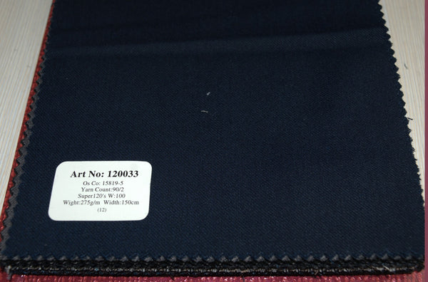signature-100-wool-super-120s-275-gs-m-plain-blue-120033 - DV Clothiers - The Best Custom Mens Suits In Vancouver
