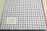 Signature Shirts-Check -Red-260068 - DV Clothiers - The Best Custom Mens Suits In Vancouver