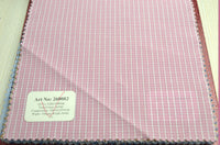 Signature Shirts-Check -Pink-260082 - DV Clothiers - The Best Custom Mens Suits In Vancouver
