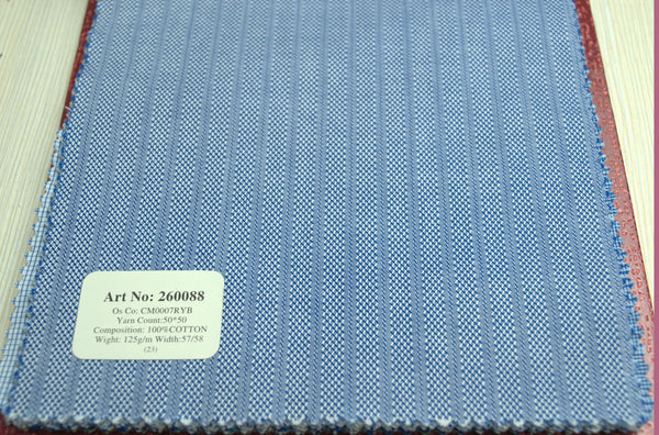 Signature Shirts-Stripe-Blue-260088 - DV Clothiers - The Best Custom Mens Suits In Vancouver