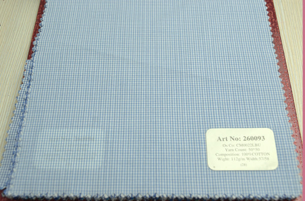 Signature Shirts-Check -Blue-260093 - DV Clothiers - The Best Custom Mens Suits In Vancouver