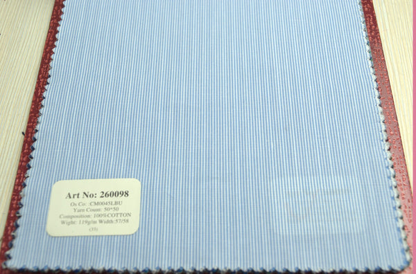 Signature Shirts-Stripe-Blue-260098 - DV Clothiers - The Best Custom Mens Suits In Vancouver