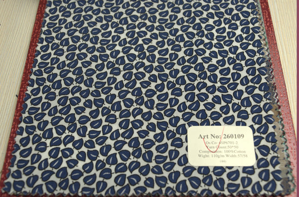 Signature Shirts-Print-Blue-260109 - DV Clothiers - The Best Custom Mens Suits In Vancouver