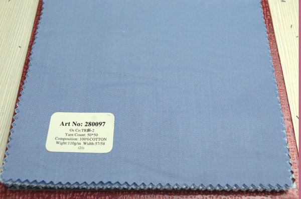 Signature Shirts-Plain-Blue-280097 - DV Clothiers - The Best Custom Mens Suits In Vancouver