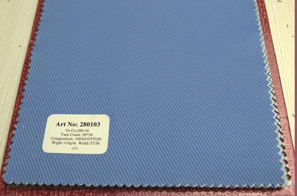 Signature Shirts-Plain / Texture-Blue-280103 - DV Clothiers - The Best Custom Mens Suits In Vancouver