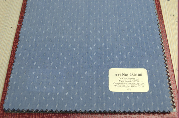 Signature Shirts-Print-Blue-280108 - DV Clothiers - The Best Custom Mens Suits In Vancouver