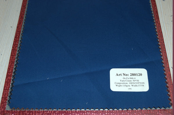 Signature Shirts-Plain-Blue-280120 - DV Clothiers - The Best Custom Mens Suits In Vancouver