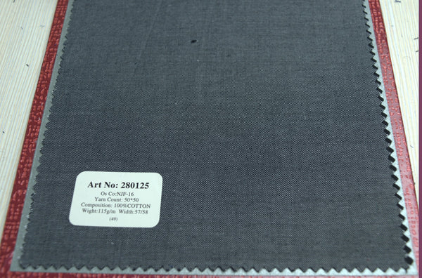 Signature Shirts-Plain-Dark Grey-280125 - DV Clothiers - The Best Custom Mens Suits In Vancouver