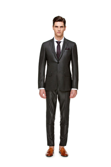 The All-Season Solid Grey Suit