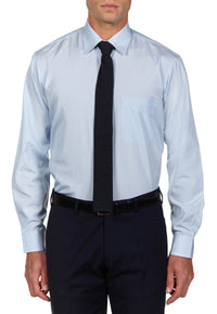 The Essential Light Blue Shirt - DV Clothiers - The Best Custom Mens Suits In Vancouver