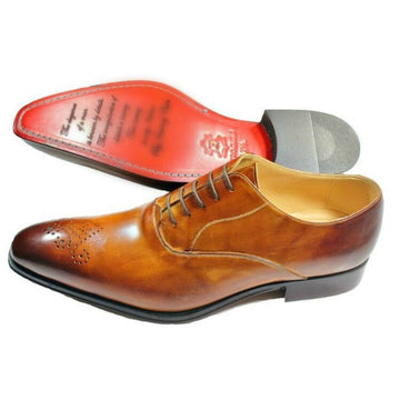 Light Brown Brogue