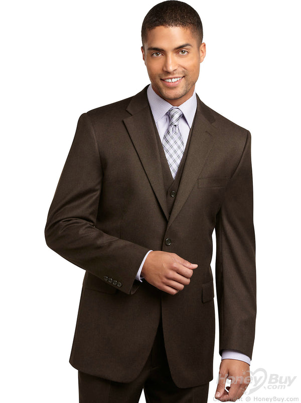 The Seasonal Brown Suit - DV Clothiers - The Best Custom Mens Suits In Vancouver
