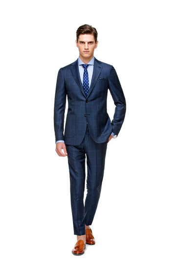 The Lighter Blue Casual Check Suit