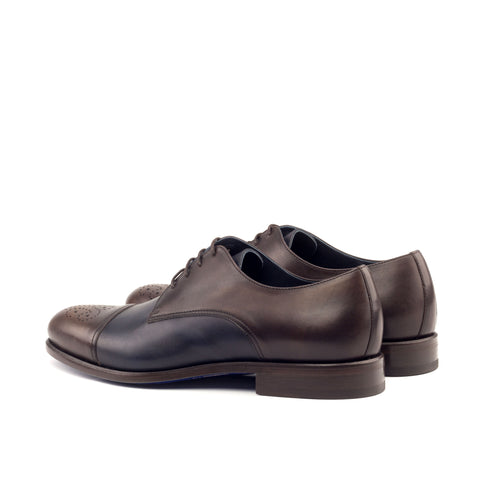 Custom Designed Punch-Toe Derby's - DV Clothiers - The Best Custom Mens Suits In Vancouver